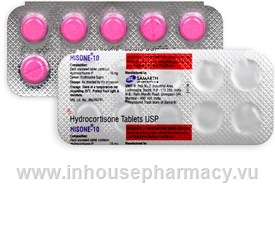 Hisone (Hydrocortisone 10mg) 10 Tablets/Strip