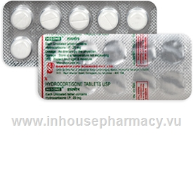 Hisone (Hydrocortisone 20mg) 10 Tablets/Strip
