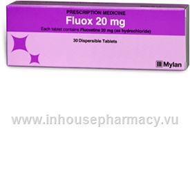 Fluox Dispersible (Fluoxetine 20mg) 30 Tablets/Pack