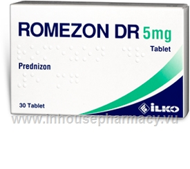 Romezon DR (Prednisone 5mg) 30 Tablets/Pack (Turkey)