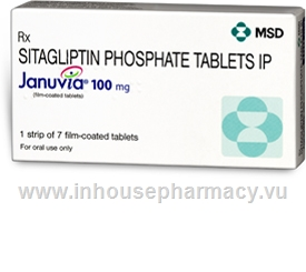 Januvia (Sitagliptin 100mg) 7 Tablets/Strip
