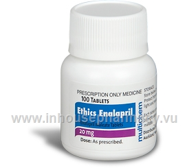 Ethics Enalapril 20mg 100 Tablets/Pack ( by Multichem)