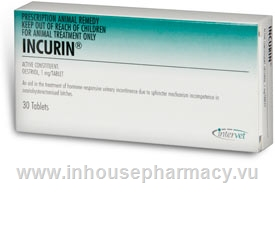 Incurin tablets 1mg 30 Tablets/Pack