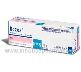 Rozex Gel 0.75% (Metronidazole) 50gm/Tube (Metronidazole)