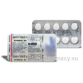 Symbal 60mg 10 Tablets/Strip