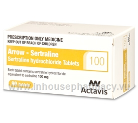 Arrow - Sertraline 100mg 90 Tablets/Pack