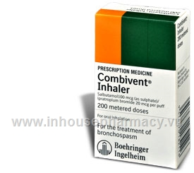 Combivent Inhaler 200 doses