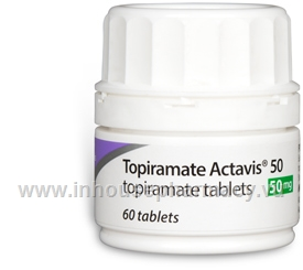 Topiramate Actavis 50mg 60 Tabs/Pack