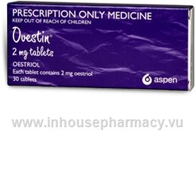 Ovestin Tablets 2mg 30 Tablets/Pack- by Aspen