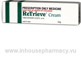 ReTrieve Cream (Tretinoin 0.05%) 50gm/Tube (Tretinoin 0.05%)