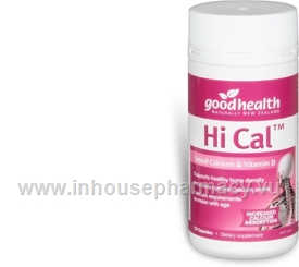 Hi Cal Liquid Calcium and Vit. D 70 Capsules/Pack