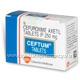 ceftum 250mg (cefuroxime axetil) 20 tablets/pack (cefuroxime 250mg), Skeleton