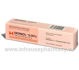 Dermol Ointment 30gm Tube (Clobetasol)