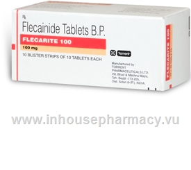 Flecarite 100 (Flecainide) 100 Tablets/Pack