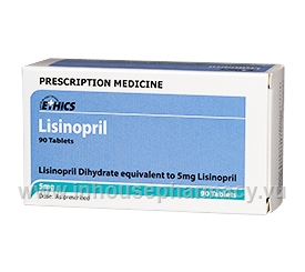 Ethics Lisinopril 5mg 90 Tablets/Pack