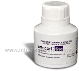 Entocort 3mg 90 Capsules/Pack