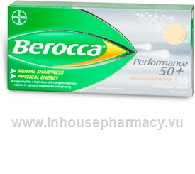 Berocca Performance 50+ 30 Tablets/Pack