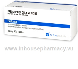 Prokinex 10mg (Domperidone) 100 Tablets/Pack