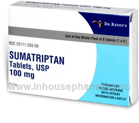 Sumatriptan succ 100 mg tablet used for