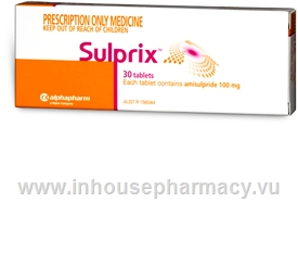 Sulprix 100mg (amisulpride) 30 Tablets/Pack