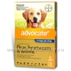 Advocate for Dogs Over 25kg 6 Tubes