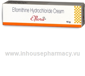 Eflora Cream 13.9% (Eflornithine) 15g/Tube
