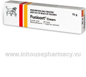 Fucicort Cream 20mg/g (Fusidic Acid/Betamethasone) 15g/Tube by LEO