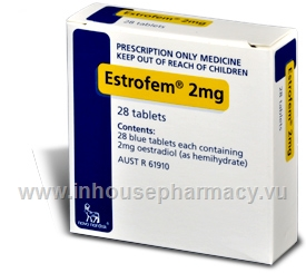 Estrofem 2mg 28 Tablets/Pack