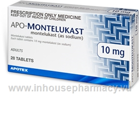 APO-Montelukast 10mg 28 Tablets/Pack