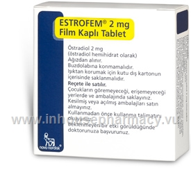 Estrofem 2mg 28 Tablets/Pack (Turkish)