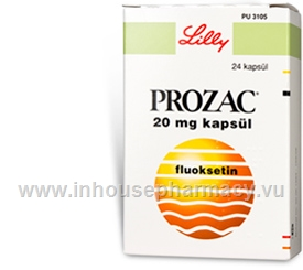 Prozac (Fluoxetine 20mg) 24 Capsules/Pack (Turkish)