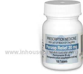 Panzop Relief (Pantoprazole 20mg) 100 Tablets/Pack