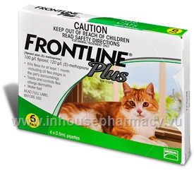Frontline Plus Cat 6 Pipettes