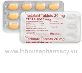 Tadarise (Tadalafil 20mg) 10 Tablets/Strip