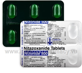 Nizonide (Nitazoxanide 500mg) 6 Tablets/Strip