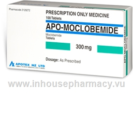 Moclobemide 300mg 100 Tablets/Pack