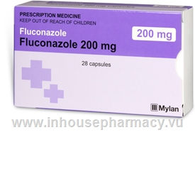 Fluconazole 200mg 28 Capsules/Pack