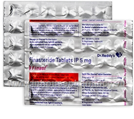 Finast (Finasteride 5mg) 30 Tablets/Strip