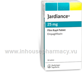 Jardiance (Empagliflozin 25mg) 30 Tablets/Pack (Sourced from Turkey)