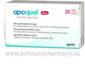 Apoquel (Oclacitinib 16mg) 20 Tablets/Pack