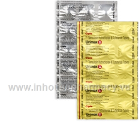 Urimax D (Tamsulosin HCl/Dutasteride 0.4mg/0.5mg) 15 Tablets/Strip