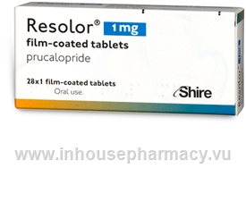 Resolor (Prucalopride 1mg) 28 Tablets/Pack