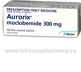 Aurorix (Moclobemide 300mg) 60 Tablets/Pack