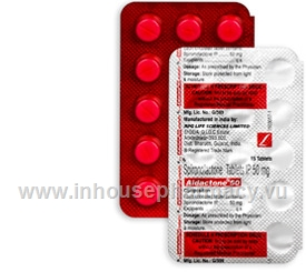 Aldactone tablets 50mg are used to treat oedema and low potassium. They contain spironolactone and you can buy Aldactone online from InhousePharmacy.vu
