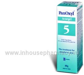 PanOxyl 5% Acne Gel 40gm/Tube (Benzoyl Peroxide)