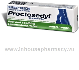 Proctosedyl Ointment 30gm/Tube