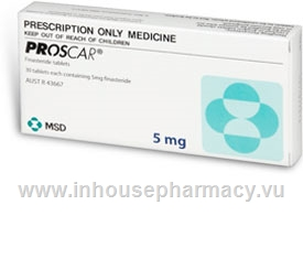 Proscar 5mg 30 Tablets/Pack