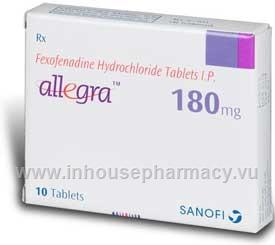 Allegra allergy uk