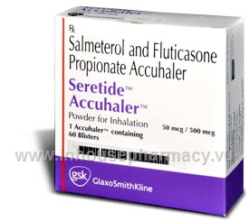 Seretide 500-50 Accuhaler 60 Blisters/Pack UK