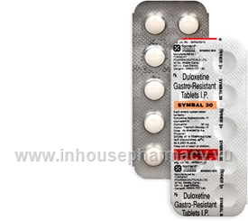 Symbal 30mg 10 Tablets/Strip